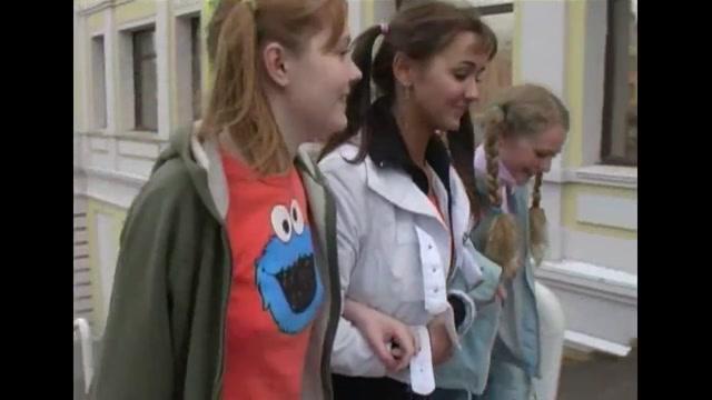 junior russian college girl. (funtik. Nura. Jersey). Gape lovers and unique threesome