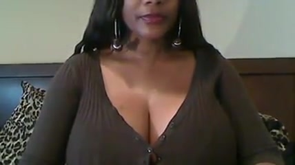 Ebony with huges tits masturbating on webcam A white girl hookup a black man