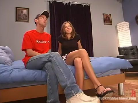 Kelly Kline in Fuckingmachines Video Busty college girls gif