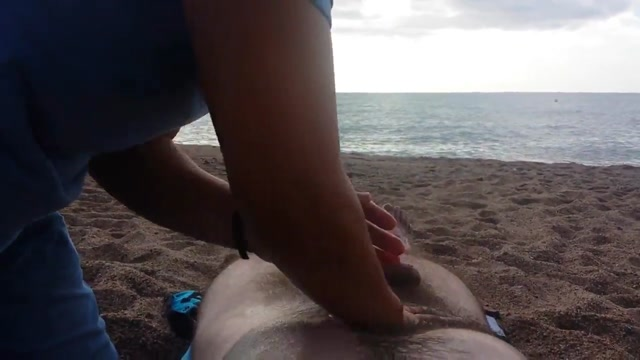 Nude massage on the beach free sex virtual reality