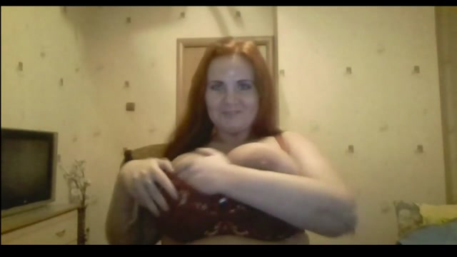 Sexy Mom masturbirut on webcam. Big tits.stockings . Milf Ana ivanovic naked pussy