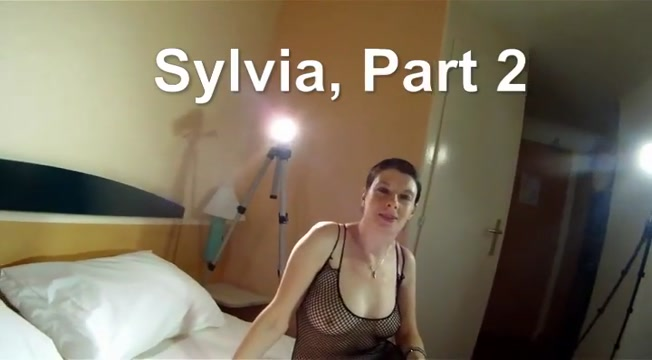 Sylvia mature loves sex. Part 2 gang bang two holes
