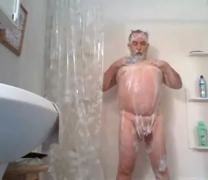 Grandpa shower Baile sexy