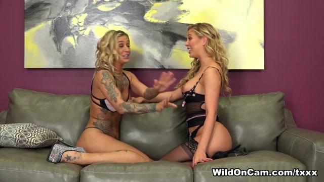 Cherie Deville & Kleio Valentien in Naughty Cherie And Horny Kleio - WildOnCam Do females over 60 masturbate
