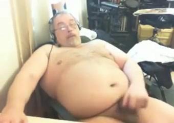 Grandpa stroke 6 Ice cream nude girl