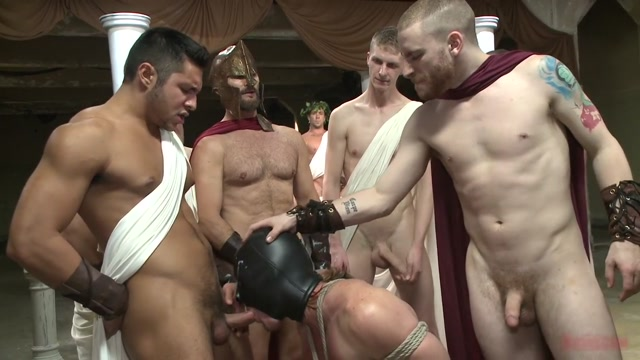 When in Rome, torture and gang bang! Best busty lesbians