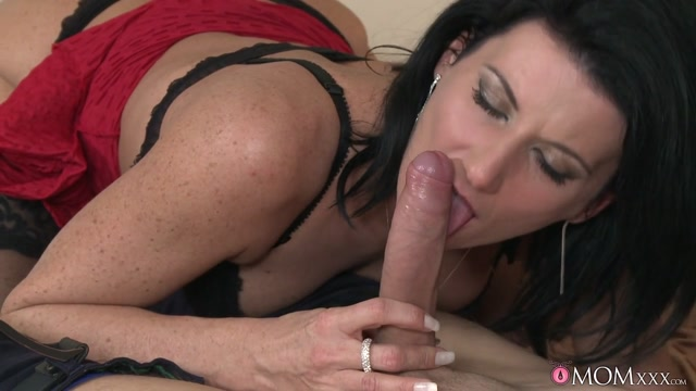 Mike James & Olivia in Never Too Old - MomXXX