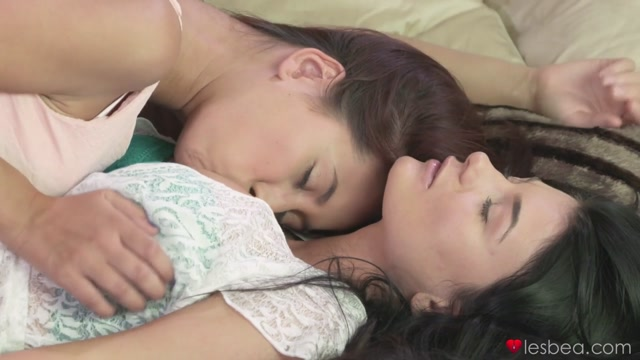 Lucy Li & Paula in Im There - Lesbea university for sex in russian