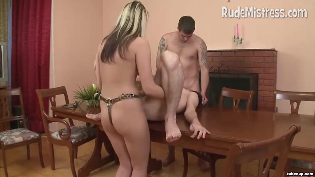 Femdom Fucks Bisexual Male Couple Nude amateur on all four