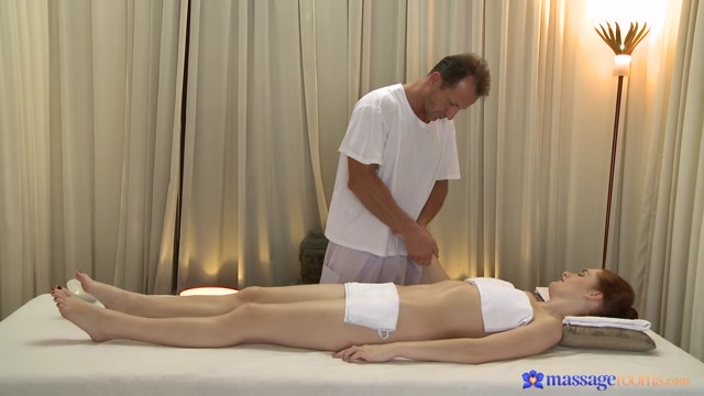 George & Haven in George On Haven - MassageRooms Legs wide open porn