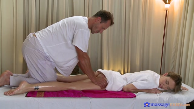 Angel & George in George On Angel - MassageRooms World record for nude wedding