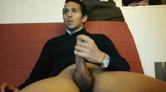French guy after work jerk Amateur monster dildo