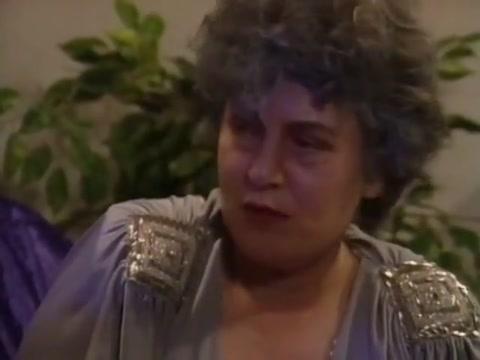 German granny gets from black stud