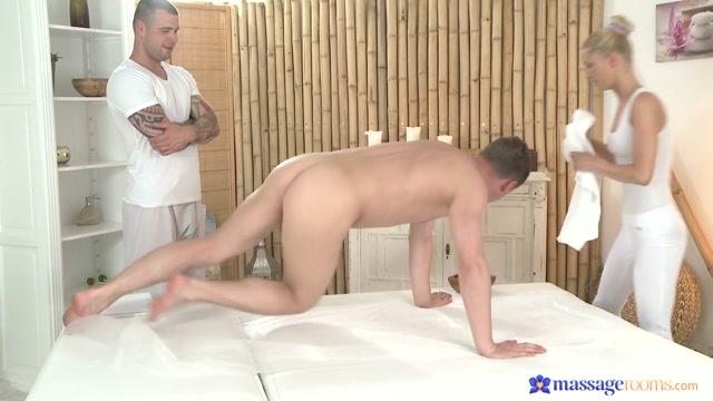 Martin & Steve & Uma in Uma On Martin And Steve - MassageRooms