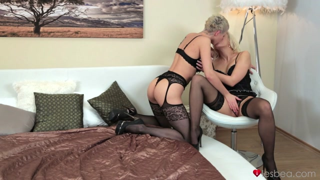 Emilie & Tracy Lindsay in Sensual Salvation - Lesbea Deepthroat strapon