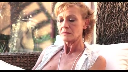 Enjoying a day at grans ! Sophie dee sloppy blowjob