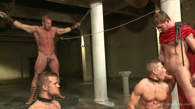 Connorligula - Roman Gladiator Live Show - Part Two Busty Cougar Threesome