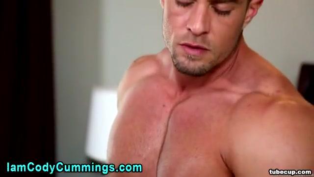 Cody Cummings massages his cock Destrying Anus XXX