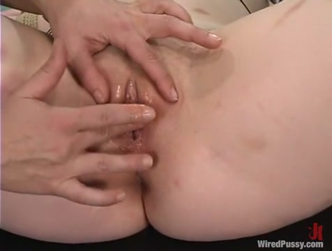 Ginger and Carly in Wiredpussy Video Binder clips femdom