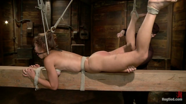 Audrey Rose in Audrey Rose Challenged With Tough Beam Bondage - HogTied Examples of conversation starters for online dating