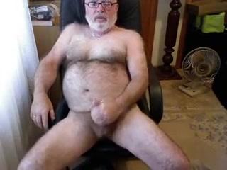 My best Daddybear jerking and cumming Ww Free Porno De