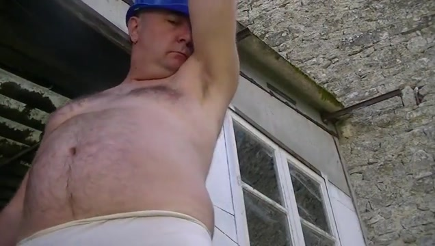 Outdoor jerk session maserati with big tits gets facial cumshot after oiled up titjob