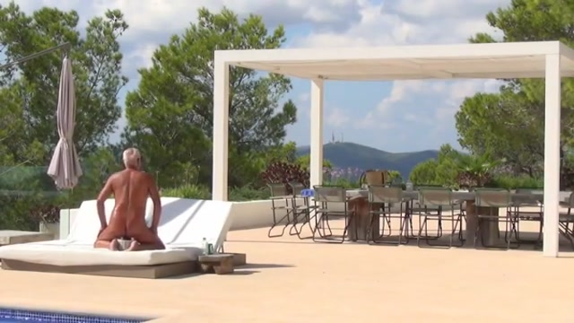 Naked man alone on his finca part 2 ebony and ivory gifts