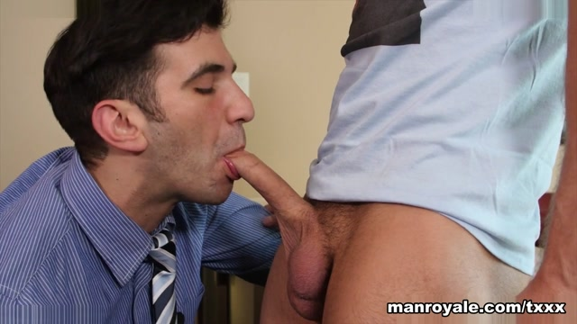 Kyle Kash & Andy Banks in Passover With a Gentile - ManRoyale Big boobs white girl porn