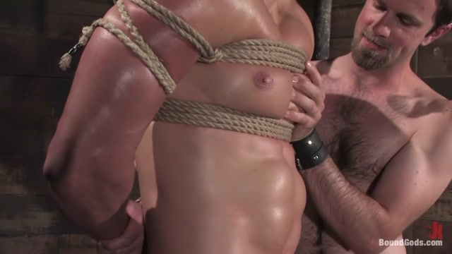 The Muscle Slave Mature wet knickers