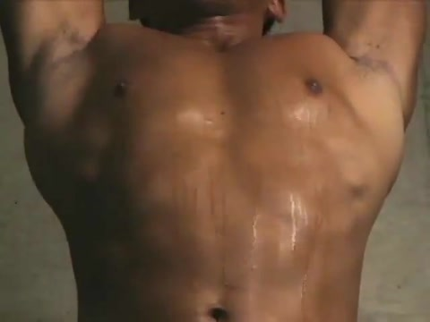 Vintage asian muscle stud solo Perfect boobs nipples
