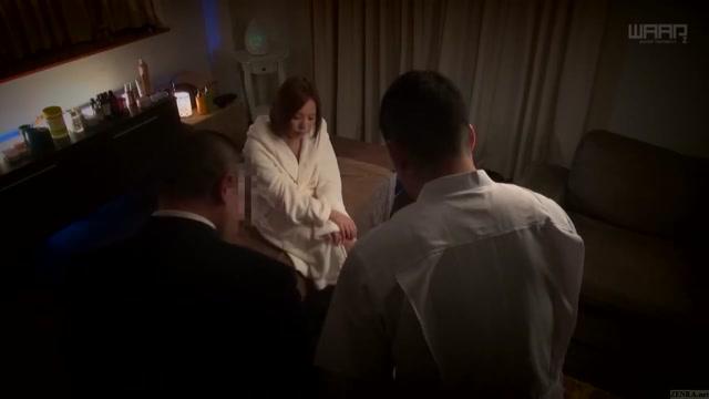 Subtitled Japanese AV star Ruri Saijou CMNF breast massage