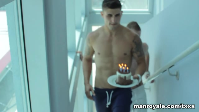 Edin Sol & Evan Mercy in Birthday Wish - ManRoyale best nylon handjobs free tubes look excite and delight best
