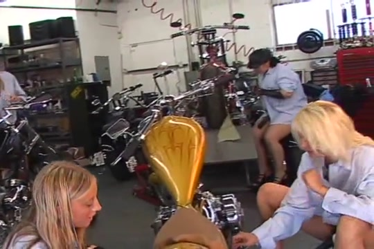 Bikers strapon pegging kissing naked lesbian porn