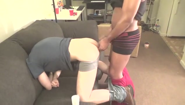 Lucky boy fucked Natural trans tits