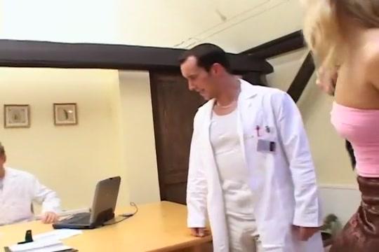 Natural Boob Exam Turns To Hot Threesome