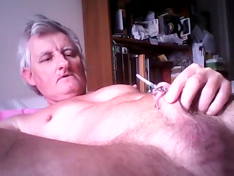 Having some catheter piss fun walk in on neighbor naked