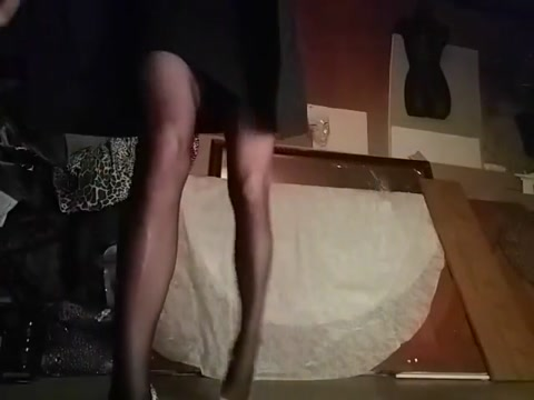 Sexy legs thigh highs wet pussy