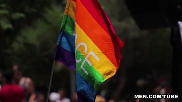 Letterio & Theo Ford in Pride Madrid - DrillMyHole Ala Poljakinja
