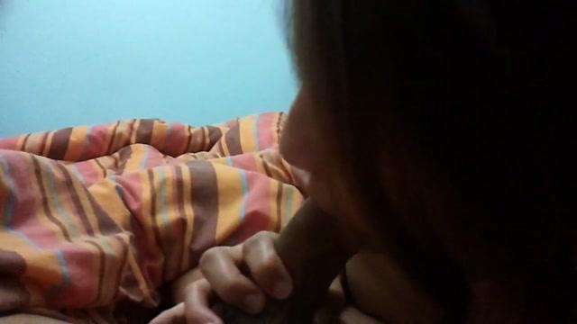 Peruvian girlfriend getting her mouth full of cum
