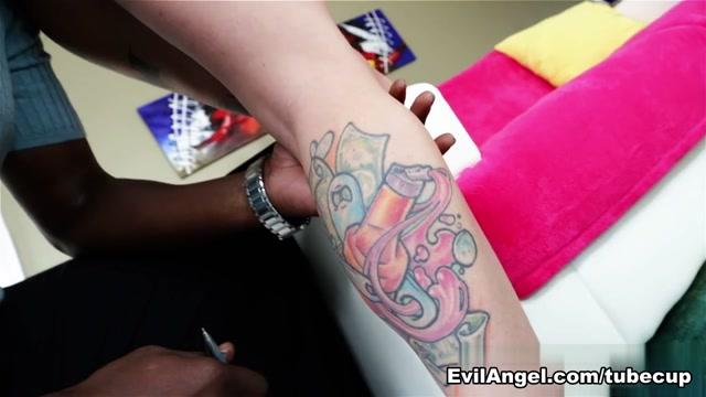 Kleio Valentien & Lexington Steele in Lexs Tattooed Vixens Video Nude chubby mature