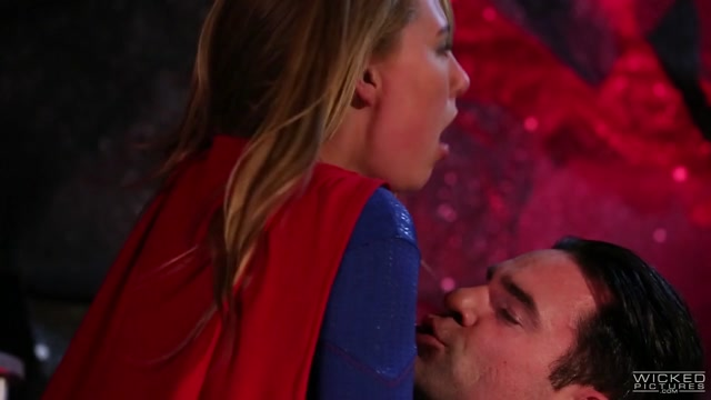 Carter Cruise in Supergirl XXXAn Axel Braun Parody, Scene 5 - WickedPictures Kissing Girls On Bed