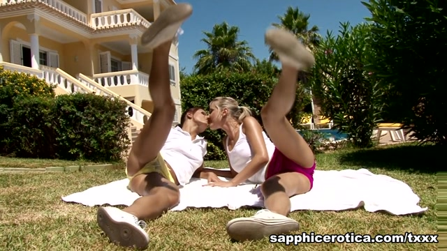 Kari & Lena in Sporty Seduction - SapphicErotica sheree j wilson nude sex vidoes