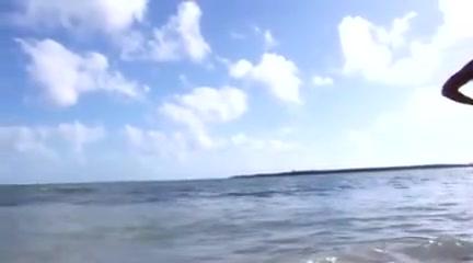 Nude Beach - Hot Blond Fuck Facial.