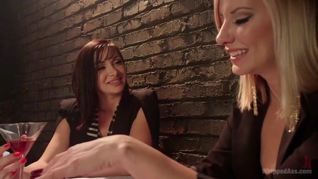 Lea Lexis dominated by Maitresse Madeline Marlowe!!! Samantha rone and taylor reed tribbing