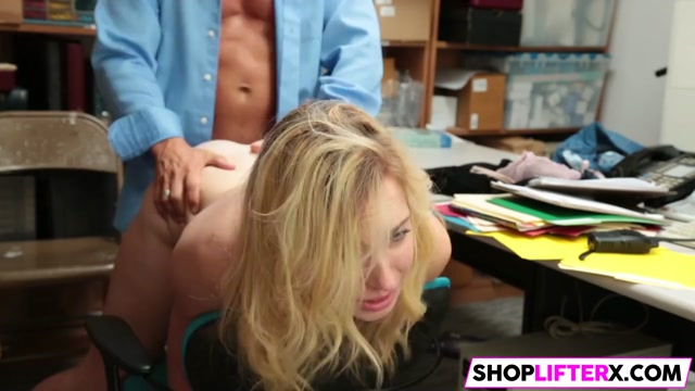 Shoplifter Zoe Parker Gets Banged By The LP Officer porn blonde hardcore threesomes