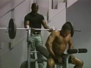 Black males workout Hot girls in sexy leather