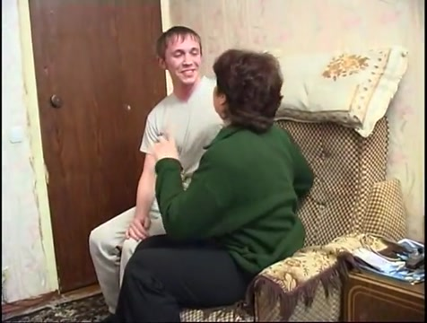 Mature and boy 18 (russian quickie) muscle man and nude women