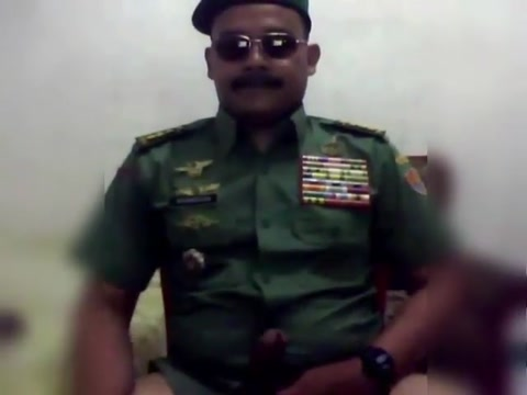 Hot moustache army officer daddy in uniform part 5 milk money hentai preview