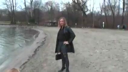 Leather slut with buttplug outside Ebony lesbians videos