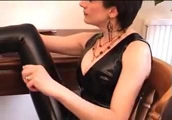 Lady sonia - latex cock treatment pig tail big tits